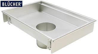 Кухонний канал BLUCHER, нержавіюча сталь, 500x1000 мм, DN160, арт. 660GK010-11