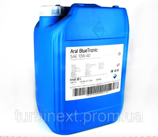 Масло 10W40 ARAL 10487 Blue Tronic (20L) (VW501 00/505 00/MB 229.1)