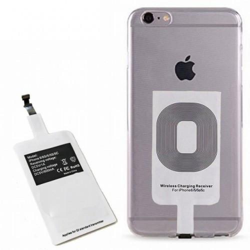 Даптер для телефона беспроводная зарядка FAST CHARGE Micro USB / Lightning