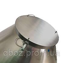 Бетономешалка из нержавеющей пищевой стали 180 литров, фото 2