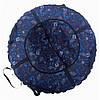 Тюбинг надувные санки Inki-blue
