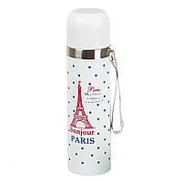 """Термос """"Bonjour Paris"""" 500 мл Держит от 8 часов!!!"""