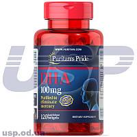 Puritan's Pride DHA 100 mg Докозагексаеновая кислота (ДГК) Омега-3 жирные кислоты