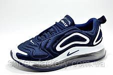 Мужские кроссовки в стиле Nike Air Max 720, White\Blue, фото 2