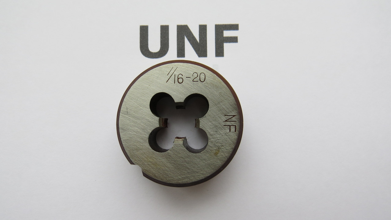Плашка дюймовая UNF 7\16 20 ниток на дюйм KRINO