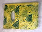 Полиэтиленовый пакет с прорезной ручкой ''Роза желтая'' 200*240 мм, 100 шт, фото 2