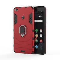 Чехол Ring Armor для Xiaomi Mi Max 2 Красный
