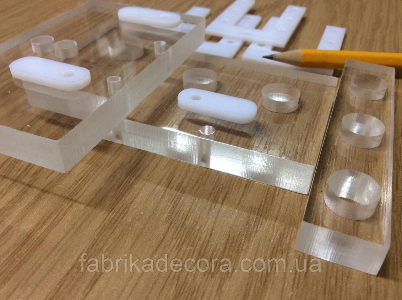Фрезерування акрил 4 мм прозорий