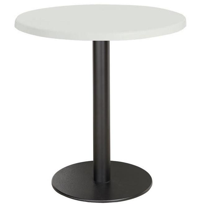 Стол круглый Стефи2, диаметр 80 см, белый