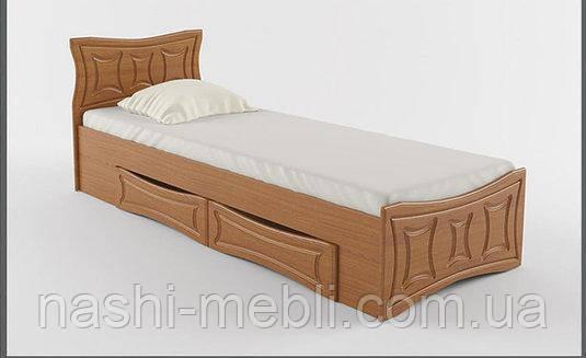 Односпальне ліжко 80 з шухдядами Сузір'я