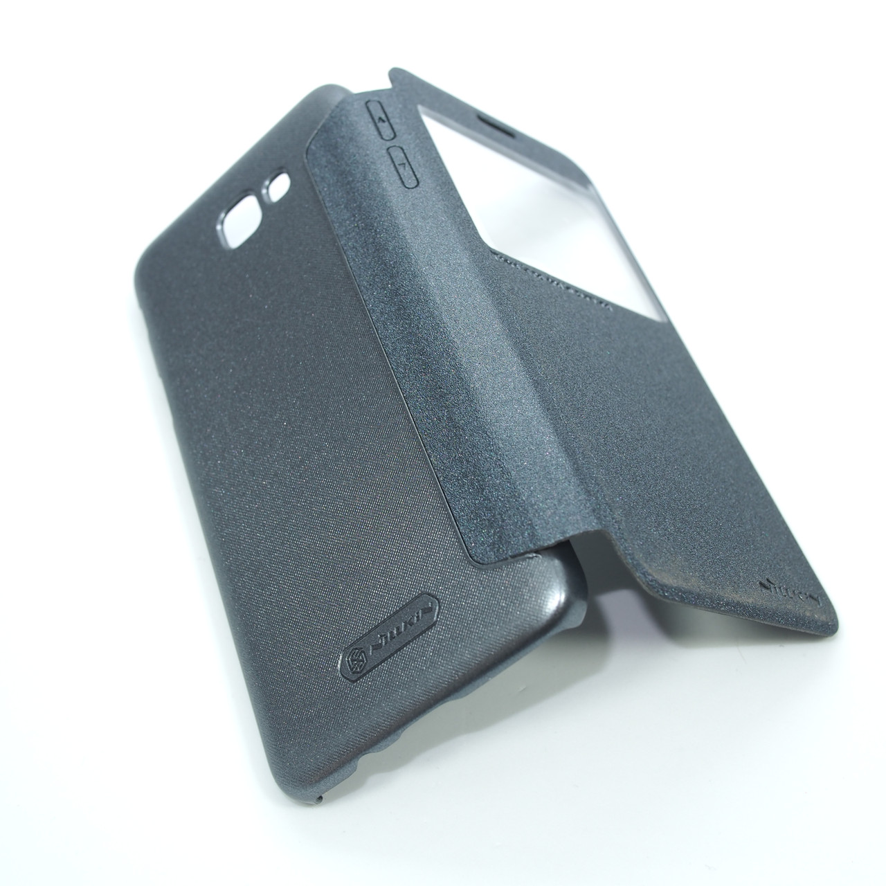 Чехлы для Galaxy J Prime Series Nillkin Sparkle Samsung J5 G570 black (J530) 2017