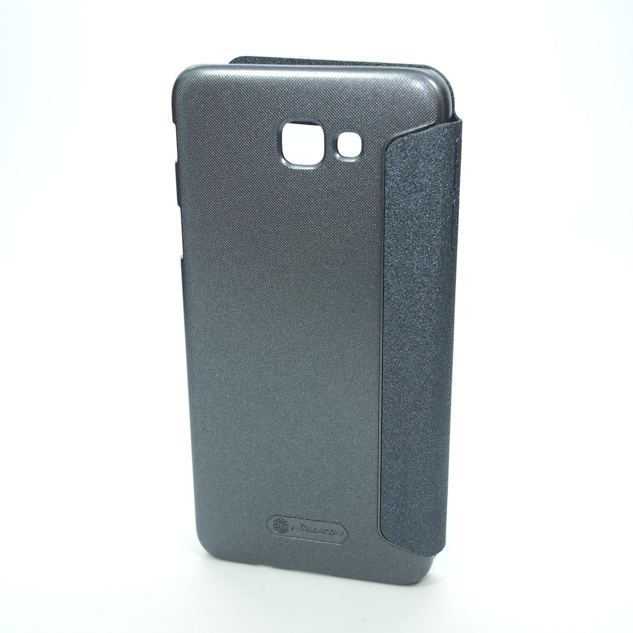 Чехлы для Galaxy J Prime Series Nillkin Sparkle Samsung J5 G570 black (J530) 2017 Для телефона