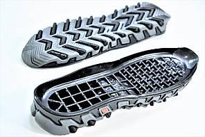 Подошва для обуви мужская 5518 чер р.38-45, фото 3