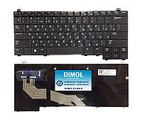 Оригинальная клавиатура для ноутбука Dell Latitude E5440 series, ru, black