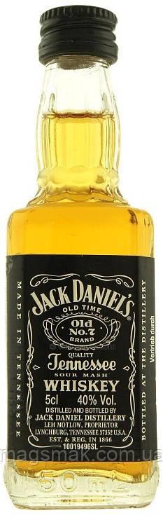 Виски Jack Daniels 40% 0.05л