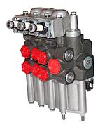 Гидрораспределитель типа Р-80-3/4-222Г, (с гидрозамком) 3-х секционный МТЗ,ЮМЗ,Т-40