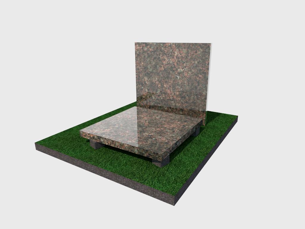 Плитка гранитная Васильевская полированная 300*300*40 (стандарт)