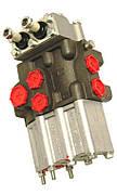 Гідророзподільник типу Р-80-3/1-22 , 2-х секційний Т-40,Т-25