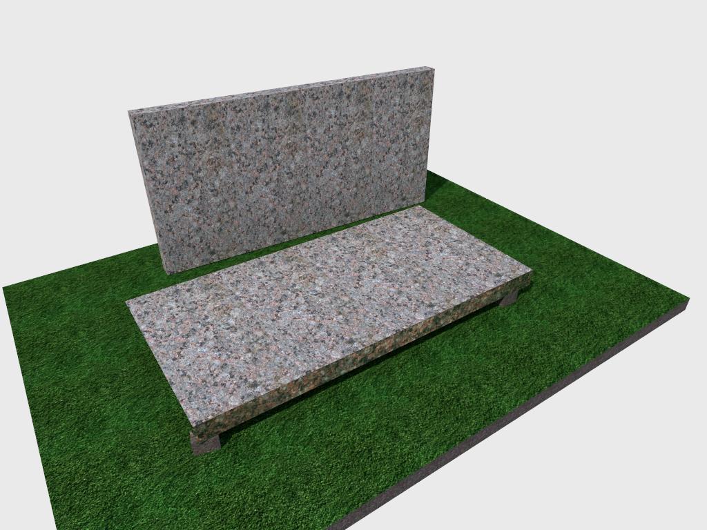 Плитка гранитная Васильевская термообработанная 600*300*30 (стандарт)
