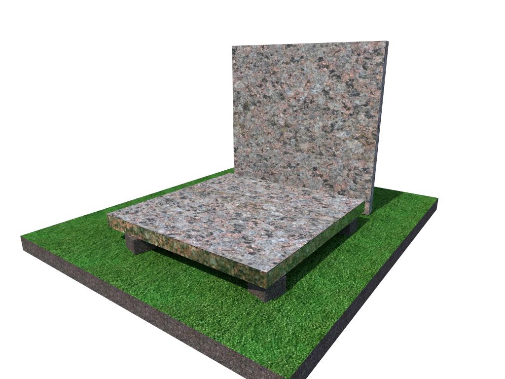 Плитка  гранитная  Васильевская термообработанная размер  300*300*40 (стандарт)