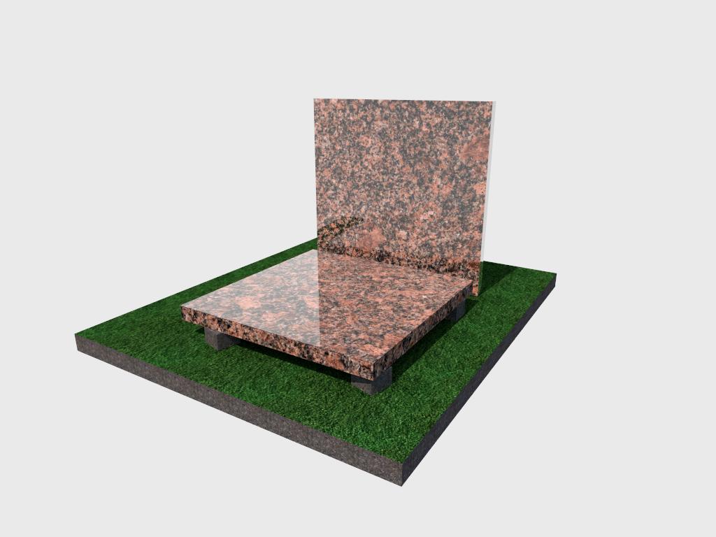 Плитка гранитная Новоданиловская полированная 300*300*40 (стандарт)