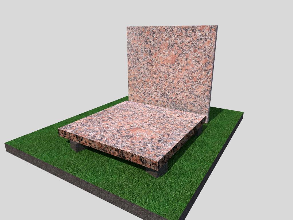 Плитка гранитная Новоданиловская термообработанная 300*300*20 (стандарт)