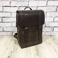 """Мужской кожаный рюкзак """"Felix"""" коричневый, фото 1"""