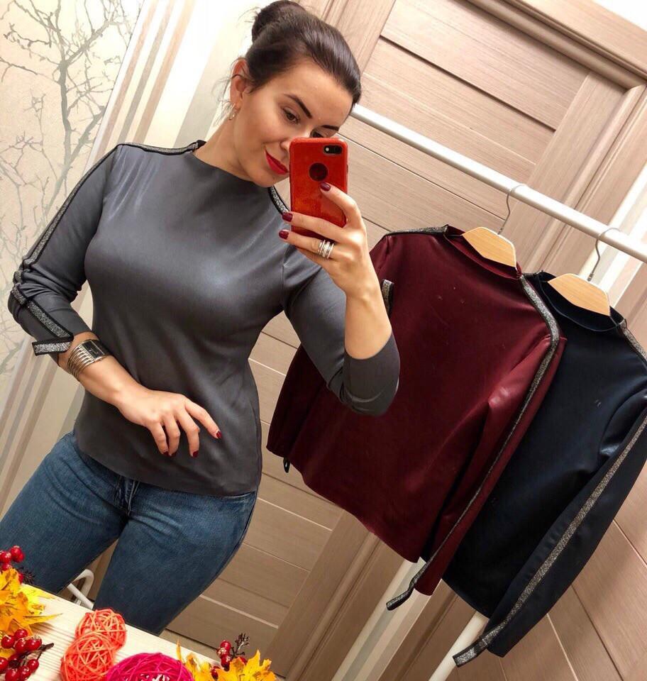 Женский оригинальны свитер РАЗНЫЕ ЦВЕТА(Фабричный Китай ) Код 390