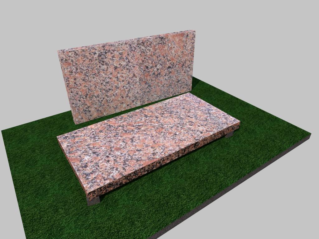 Плитка гранитная Новоданиловская термообработанная 600*300*50 (стандарт)