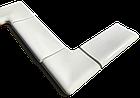 Копинговый камень угловой наружный 25 см, фото 2