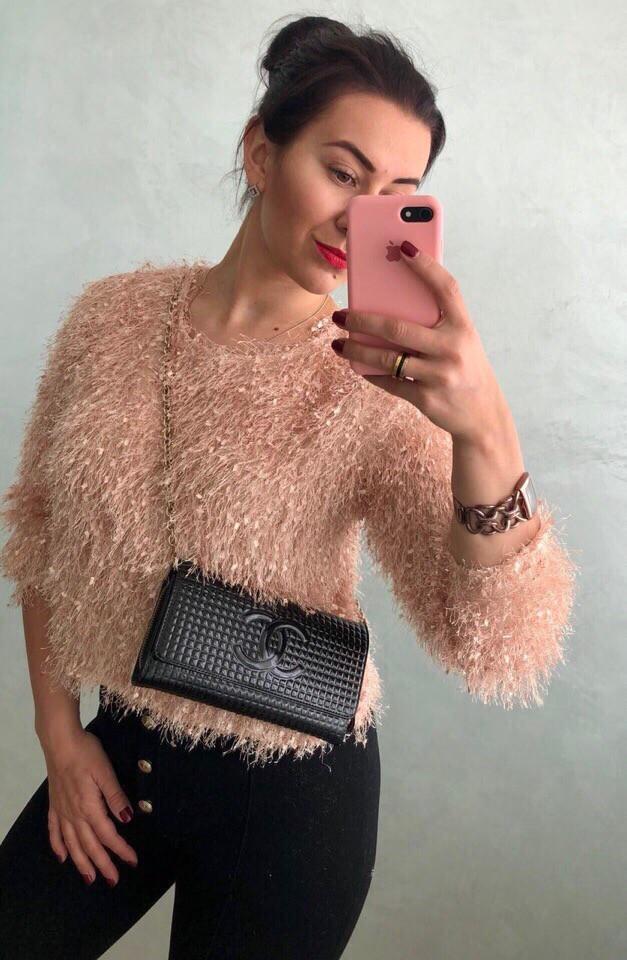Женский очаровательный свитер РАЗНЫЕ ЦВЕТА(Фабричный Китай ) Код 091