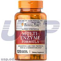 Puritan's Pride Super Strength Multi Enzyme ферменты энзимы улучшение обмена веществ нормализация пищеварения