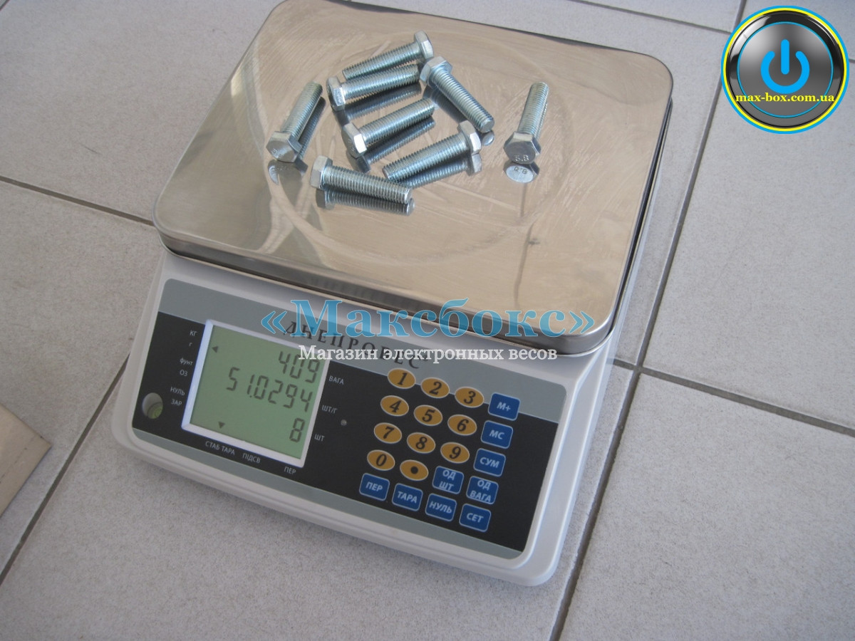 Весы счётные 30 кг ВТД-СЧ   F998-30 СЧ Днепровес