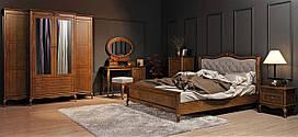 Спальня 1 Палермо Мебус темная