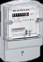 Счетчик электроэнергии NIK 2102-02 М2В (5-60А) электронный однофазный однотарифный