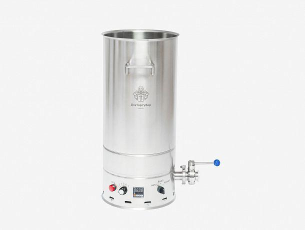"""Перегонный куб """" Доктор Губер """" со встроенным ТЭНом и термоконтроллером на 45 литров"""