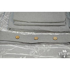 Постельное белье Tiare Вареный Хлопок Жаккард 006 (Евро) 200х220, фото 2