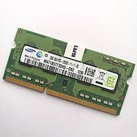 Оперативная память для ноутбука Samsung SODIMM DDR3 2Gb 1600MHz 12800S CL11 (M471B5773DH0-CK0) Б/У
