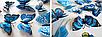 Объемные 3D бабочки на стену (обои) для декора, фото 2