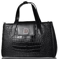 e1cfd624858e Женская кожаная сумка WANLIMA Черная (W12029480014-black)