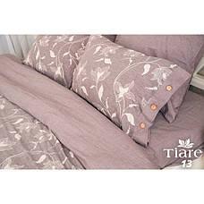 Постільна білизна Tiare Варений Жаккард Бавовна 013 (Євро) 200х220, фото 3