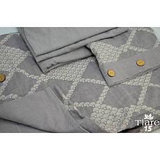 Постельное белье Tiare Вареный Хлопок Жаккард 015 (Евро) 200х220, фото 2