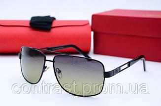 Солнцезащитные очки Mercedes ( с поляризацией) Р 9516 черн зел