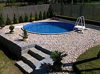 Сборный бассейн Hobby Pool Milano 3 x 1.5 м (пленка 0.6 мм), фото 1