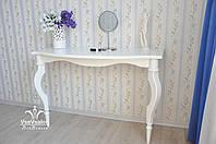 Деревянный туалетный столик консоль, фото 1