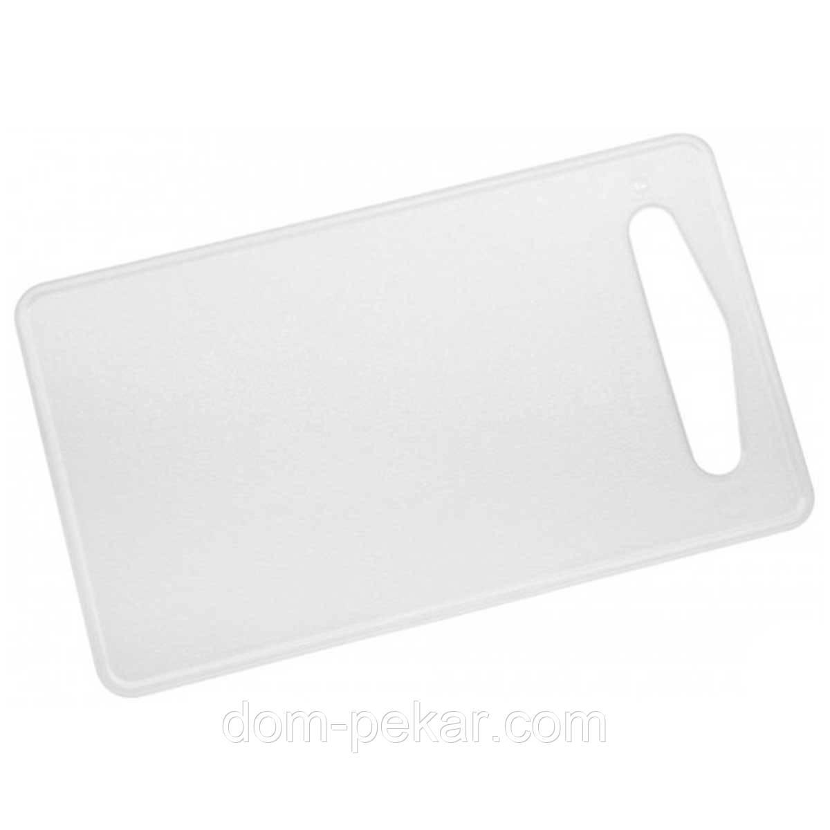 Доска разделочная пластик 37*24*0,5 см