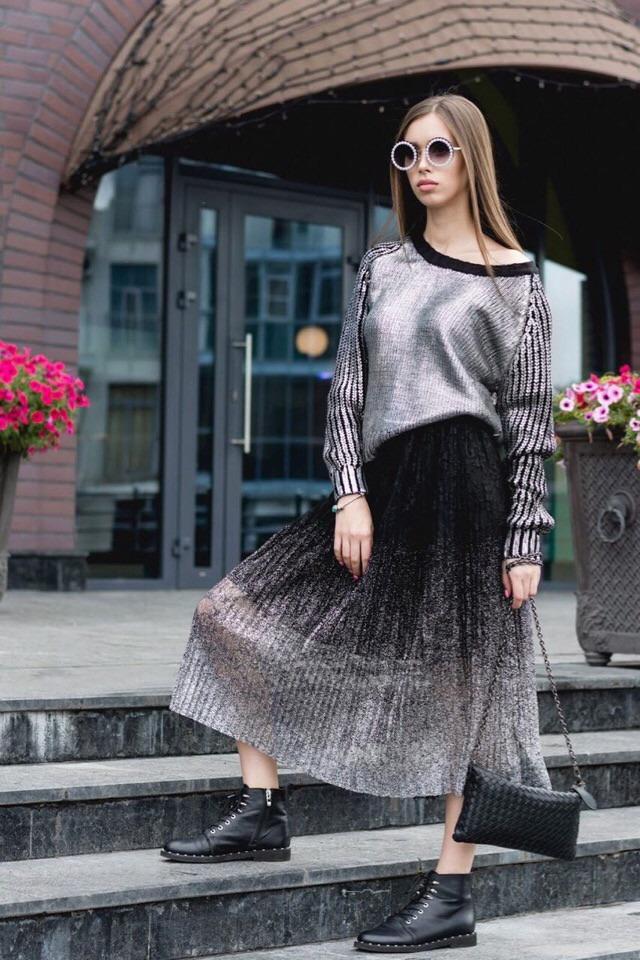 Женский элегантный свитер РАЗНЫЕ ЦВЕТА(Фабричный Китай ) Код 398