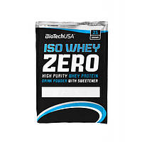 Biotech USA, Протеин Iso Whey Zero LACTOSE FREE, 25 грамм