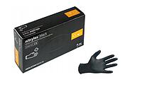 Перчатки Mercator Medical NITRYLEX BLACK XS нитриловые неопудренные черные  RD30104001