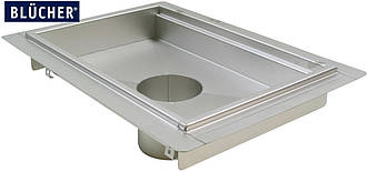 Кухонний канал BLUCHER з фланцем, нержавіюча сталь, 600x900 мм, DN160, арт. 664HK009-11